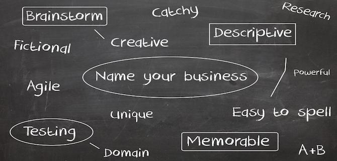 how to create a trading name to a company name